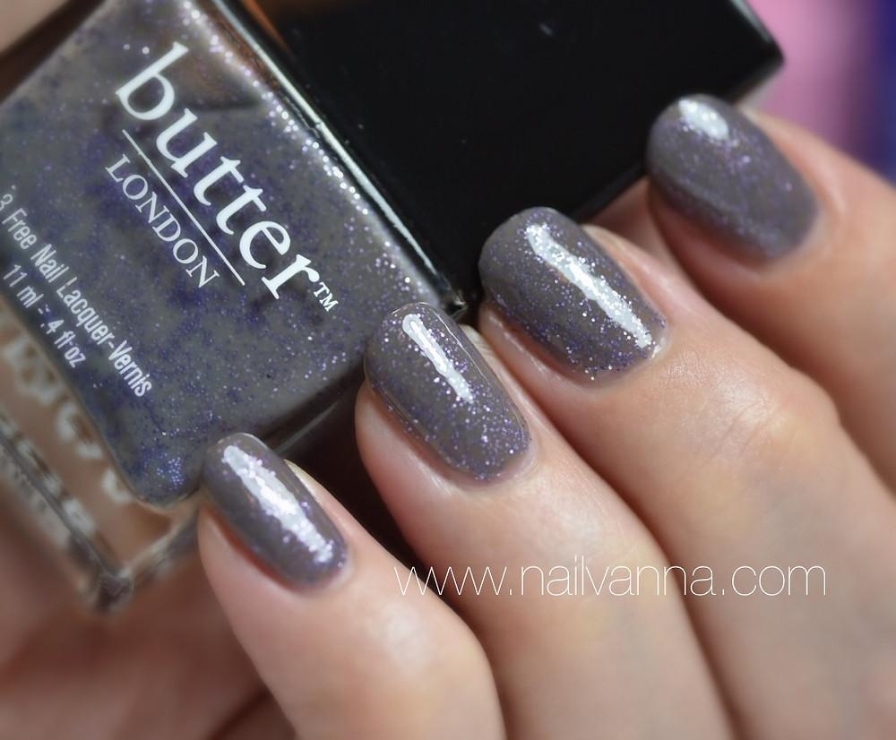 Nailvanna,nail polish reviews,lacquer,butter london,no more waity katie