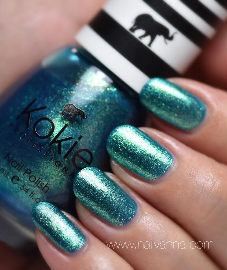 Nailvanna,nail polish reviews,lacquer,Kokie,Oceana
