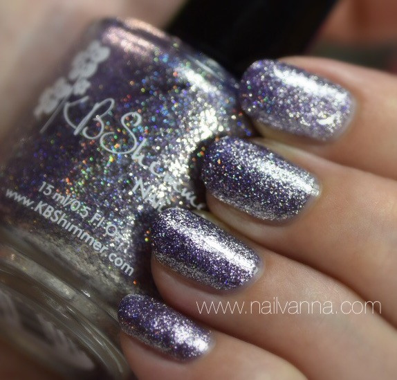 Nailvanna,nail polish review,lacquet,KB Shimmer,Gull Get Real!.