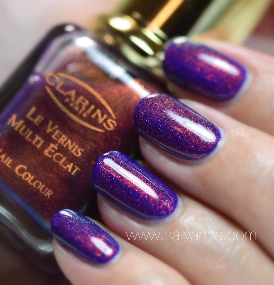 Nailvanna,nail polish reviews,laquer,Finger Paints,Magritte's Masterpiece, Clarins,230