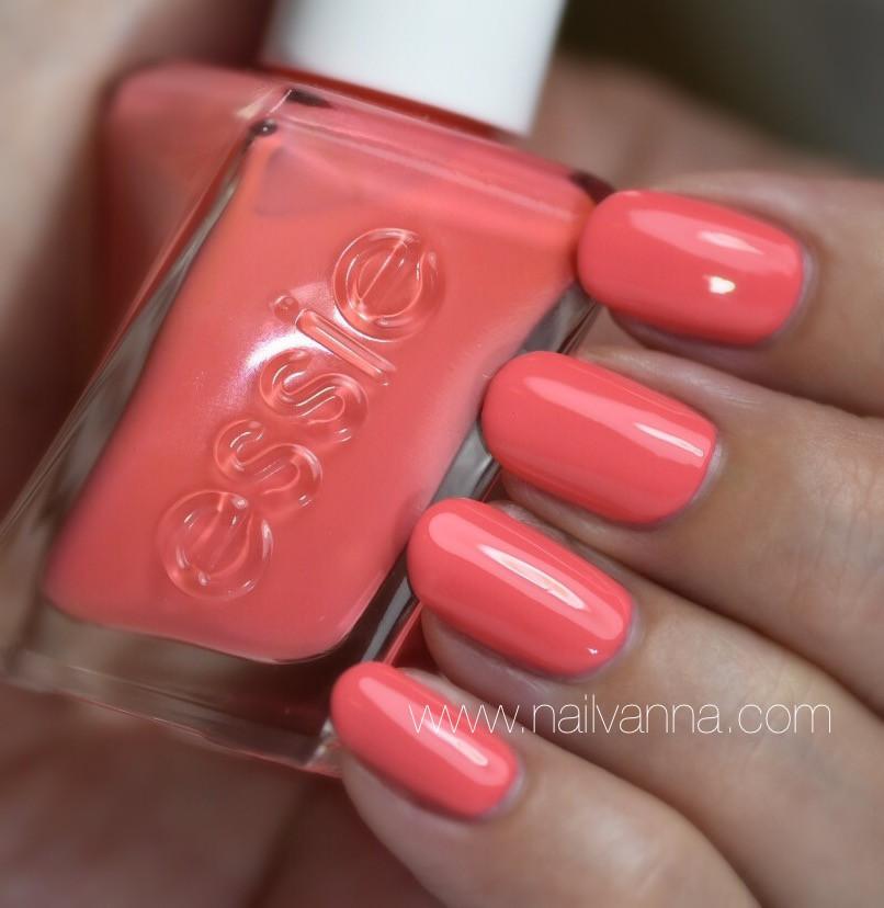Nailvanna,nail polish,lacquer,Essie,On The List,pink,Gel