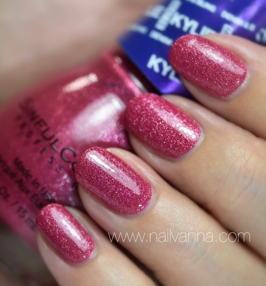 Nailvanna,nail polish reviews,lacquer,Sinful Colors,Krop Top,Kylie Jenner