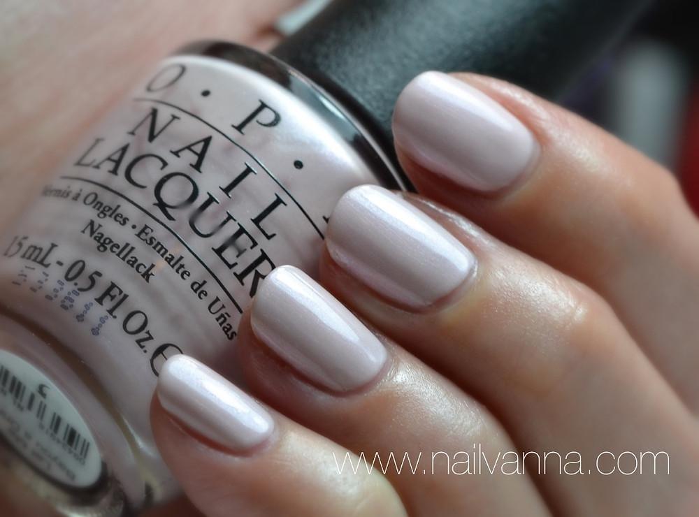 Nailvanna,nail polish reviews,lacquer,OPI,New Orleans,Let Me Bayou A Drink,pink shimmer