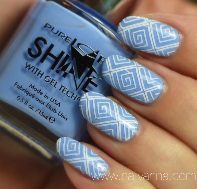 Nailvanna,nail polish eviews,lacquer,Pure Ice,Rain & Shine, blue,walmart