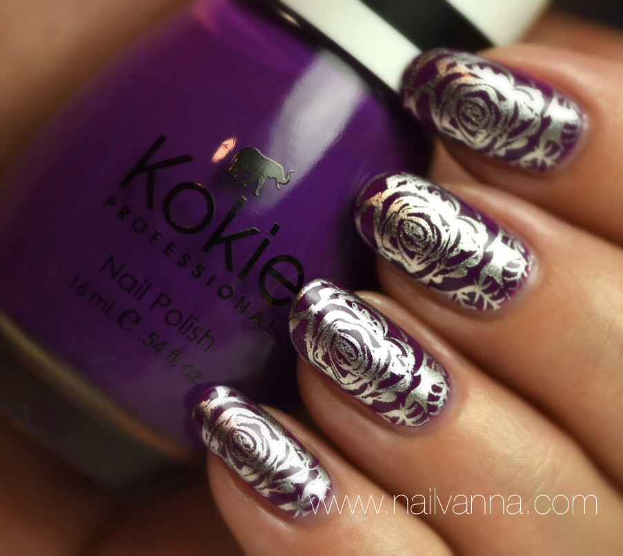 Nailvanna,nail polish reviews,lacquer,Kokie,Raise The Barbados,purple
