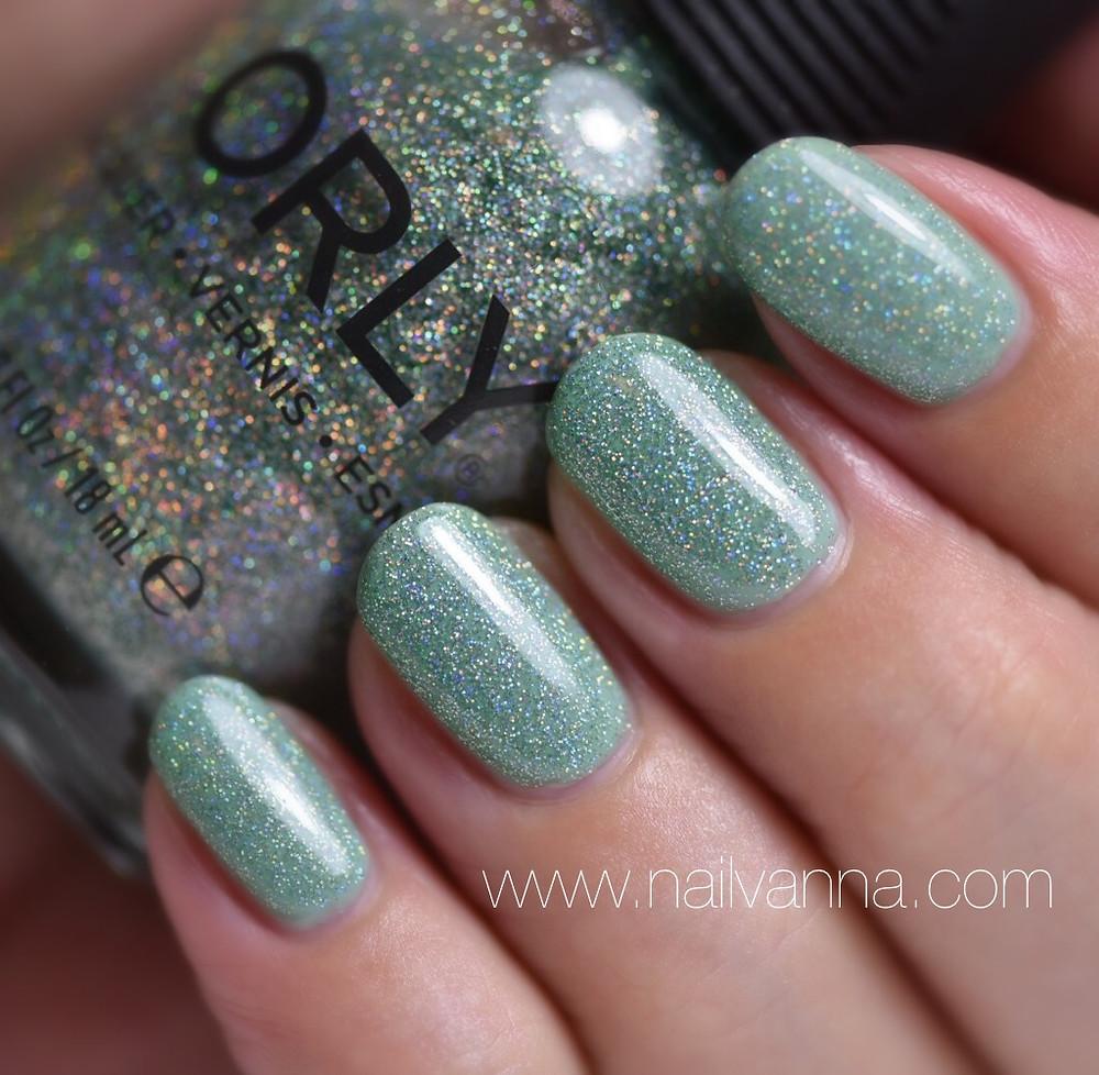 Nailvanna,nail polish reviews,lacquer,Orly,Sparkling Garbage