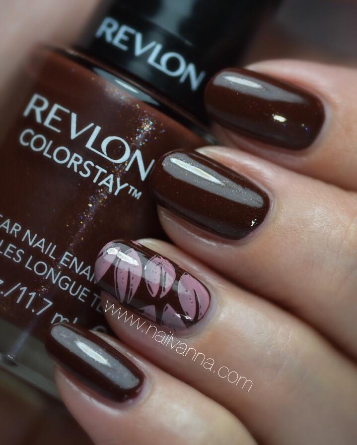 Nailvanna,nail polish reviews,lacquer,Revlon,French Roast,brown