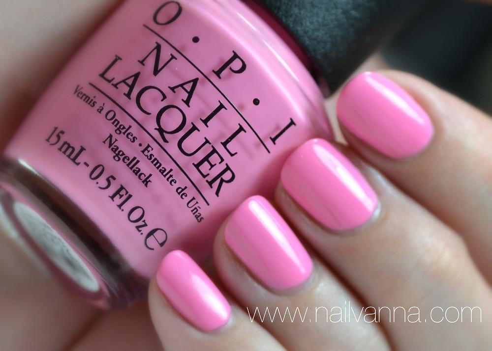 Nailvanna,nail polish reviews,lacquer,OPI,New Orleans,Suzi Nails New Orleans,pink