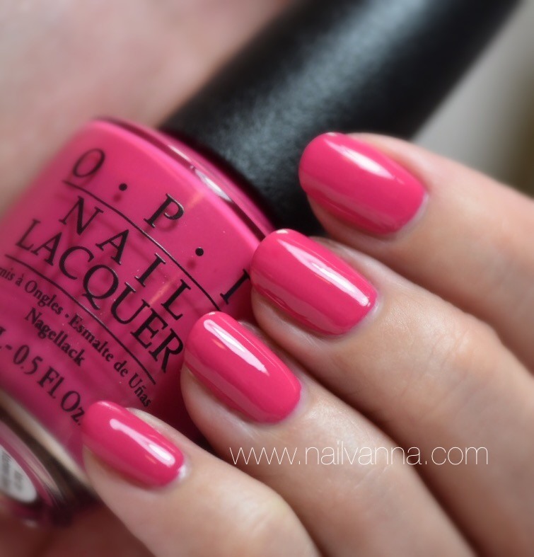 Nailvanna,nail polish reviews,lacquer,OPI,pink,Mad for Madness Sake,Alice Through The Looking Glass
