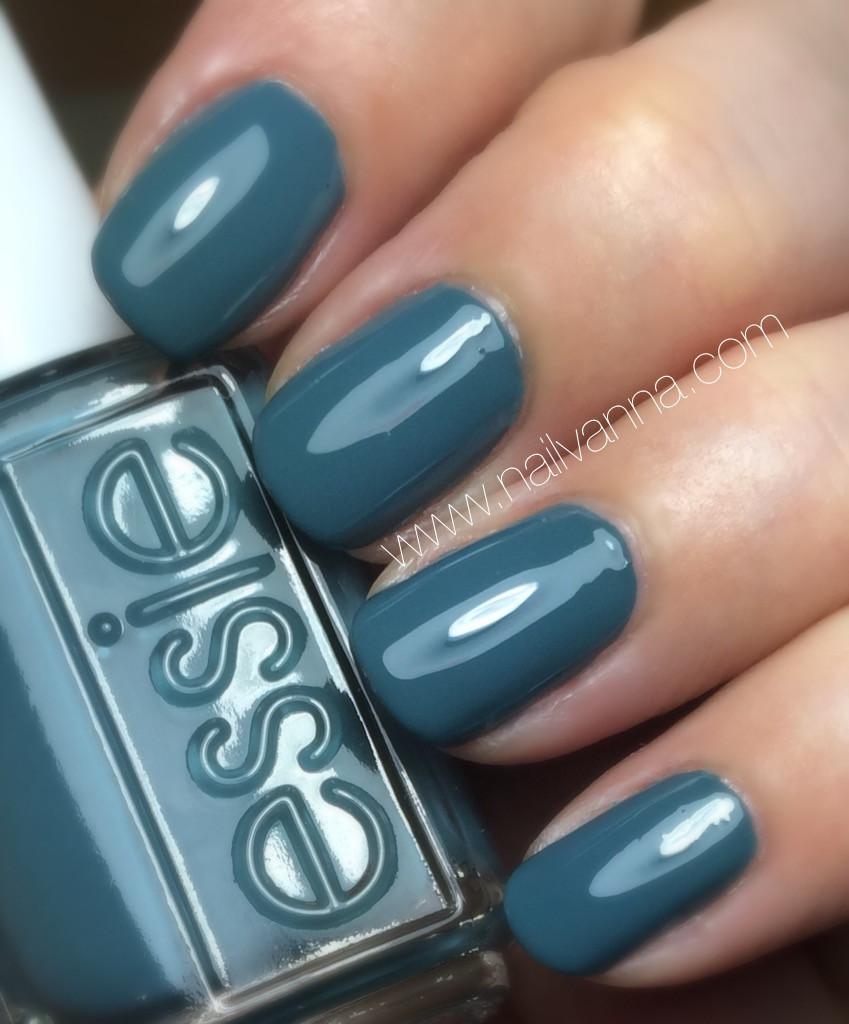 nailvanna,nail polish reviews,lacquer,essie, spring 2016, poolside service, grey
