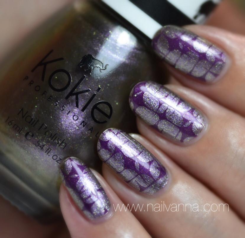 Nailvanna,nail polish reviews,lacquer,Kokie,Onyx,multi chrome,nail art