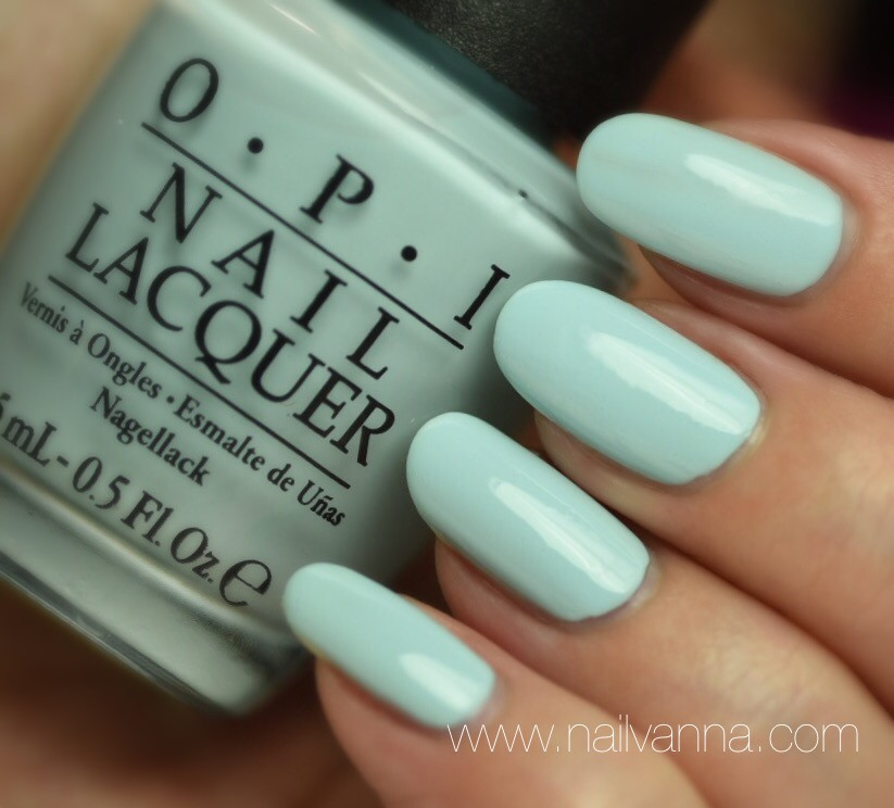 Nailvanna,nail polish reviews,lacquer,OPI,Suzi Without A Paddle