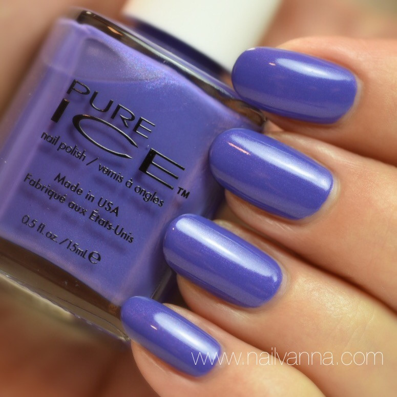 Nailvanna,nail polish reviews,lacquer,Pure Ice,It's All A Bluer