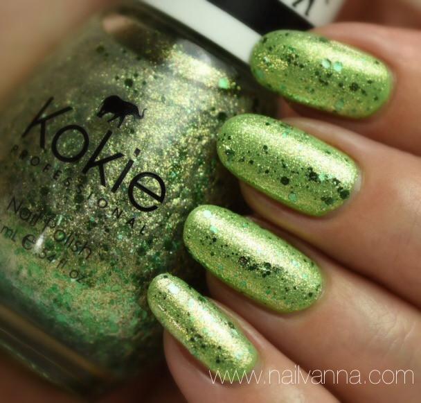 Nailvanna,nail polish reviews,lacquer,Kokie,Feeling Lucky