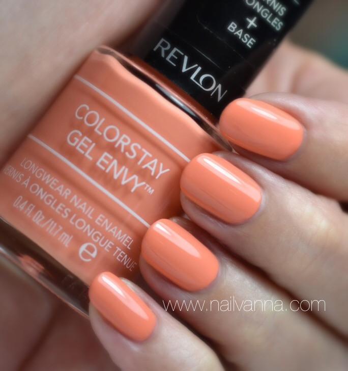 Nailvanna,nail polish review,lacquer,revlon,joker's wild,peach