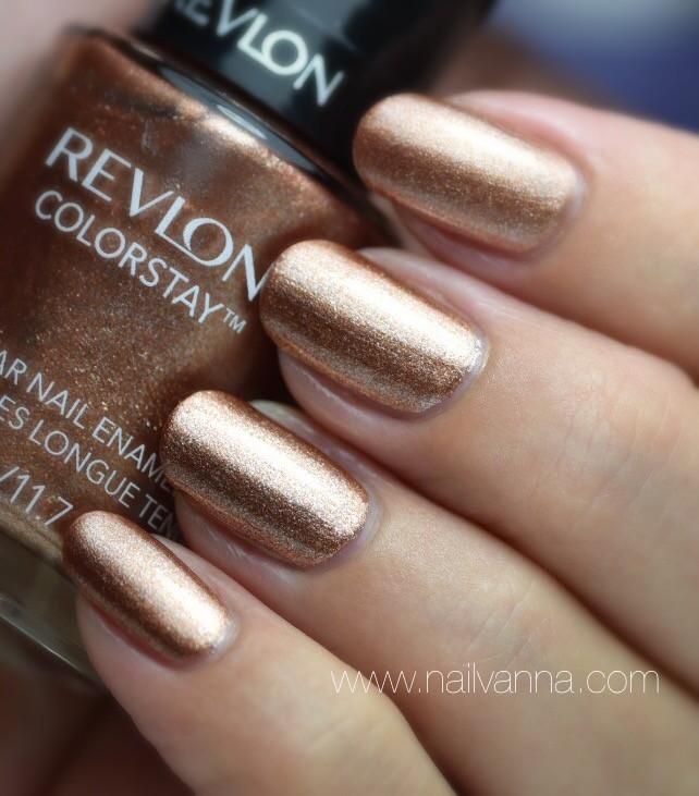 Nailvanna,nail polish reviews, lacquer,Revlon,Fall Mood