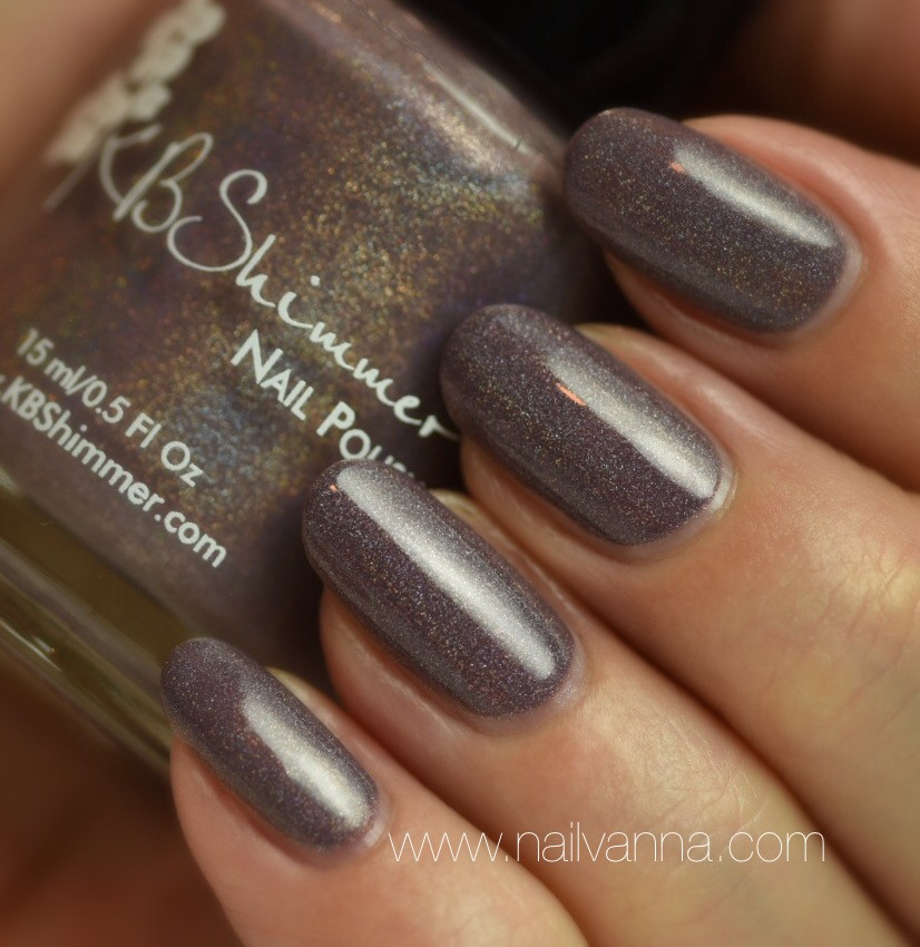 Nailvanna,nail polish review,lacquer,KB Shimmer,The Office Space,Cubicle Pusher,Naughty Neutrals