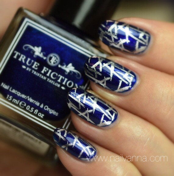 Nailvanna,nail polish reviews,lacquer,True Fiction,True Blue,Ink