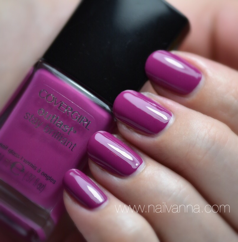 Nailvanna,nail polish review,lacquer,cover girl,leading lady