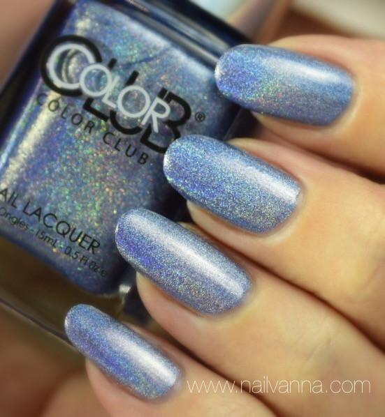 Nailvanna,nail polish reviews,lacquer,Color Club,Crystal Baller
