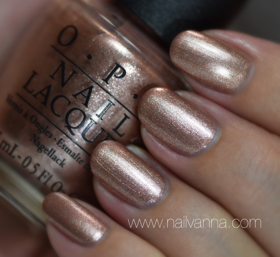 Nailvanna,nail polish reviews,lacquer,OPI,Worth A Pretty Penne