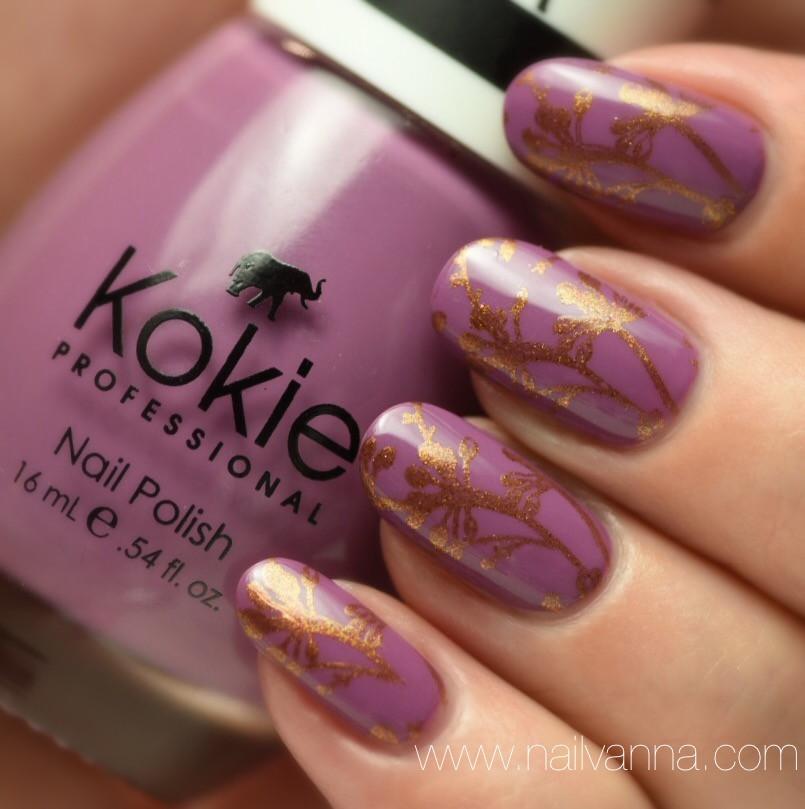Nailvanna,nail polish reviews,lacquer,Kokie,Mystic Mauve