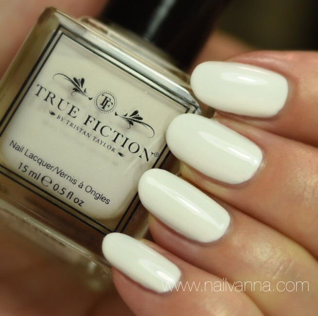 Nailvanna,nail polish reviews,lacquer,True Fiction,Sugar Pie,white nails