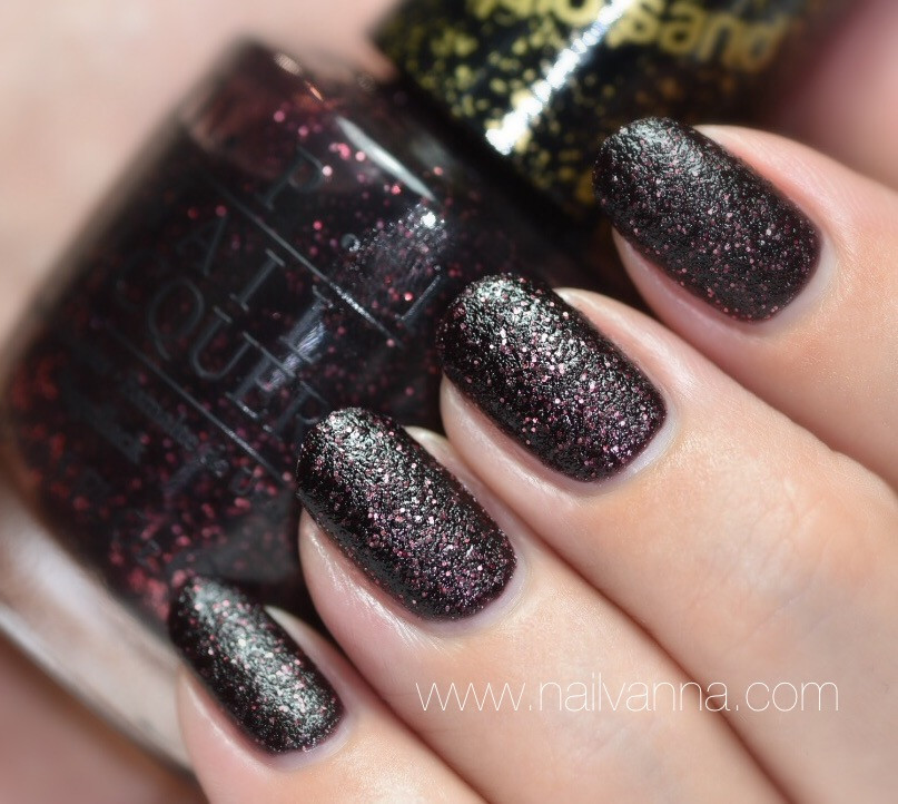Nailvanna, nail polish reviews,lacquer,OPI, Stay The Night