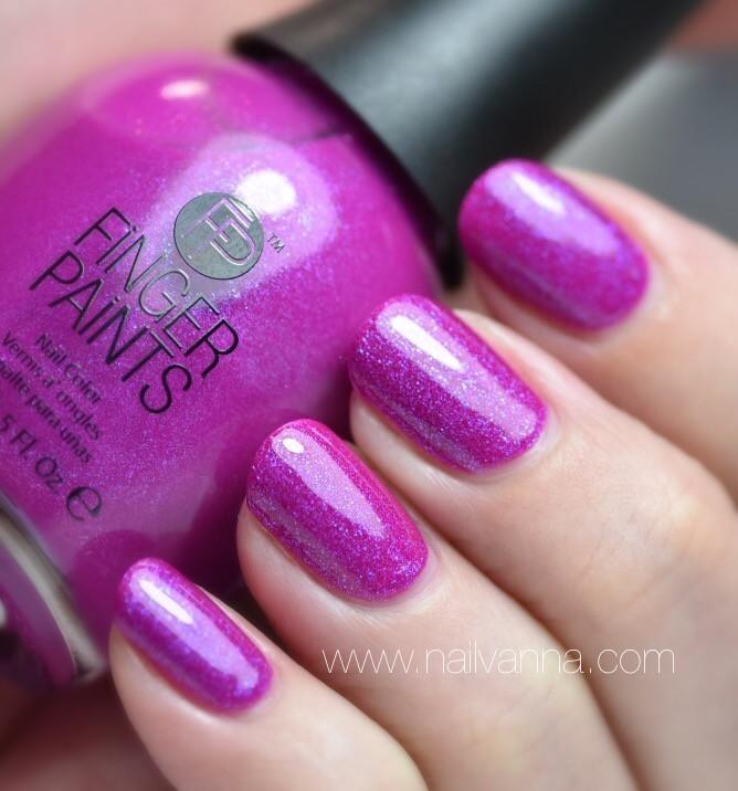 Nailvanna,nail polish review,lacquer,finger paint,gorgeous graffiti