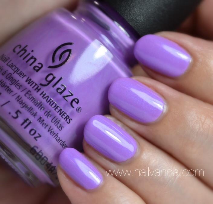 Nailvanna,nail polish reviews,lacquer,china glaze,let's jam,purple