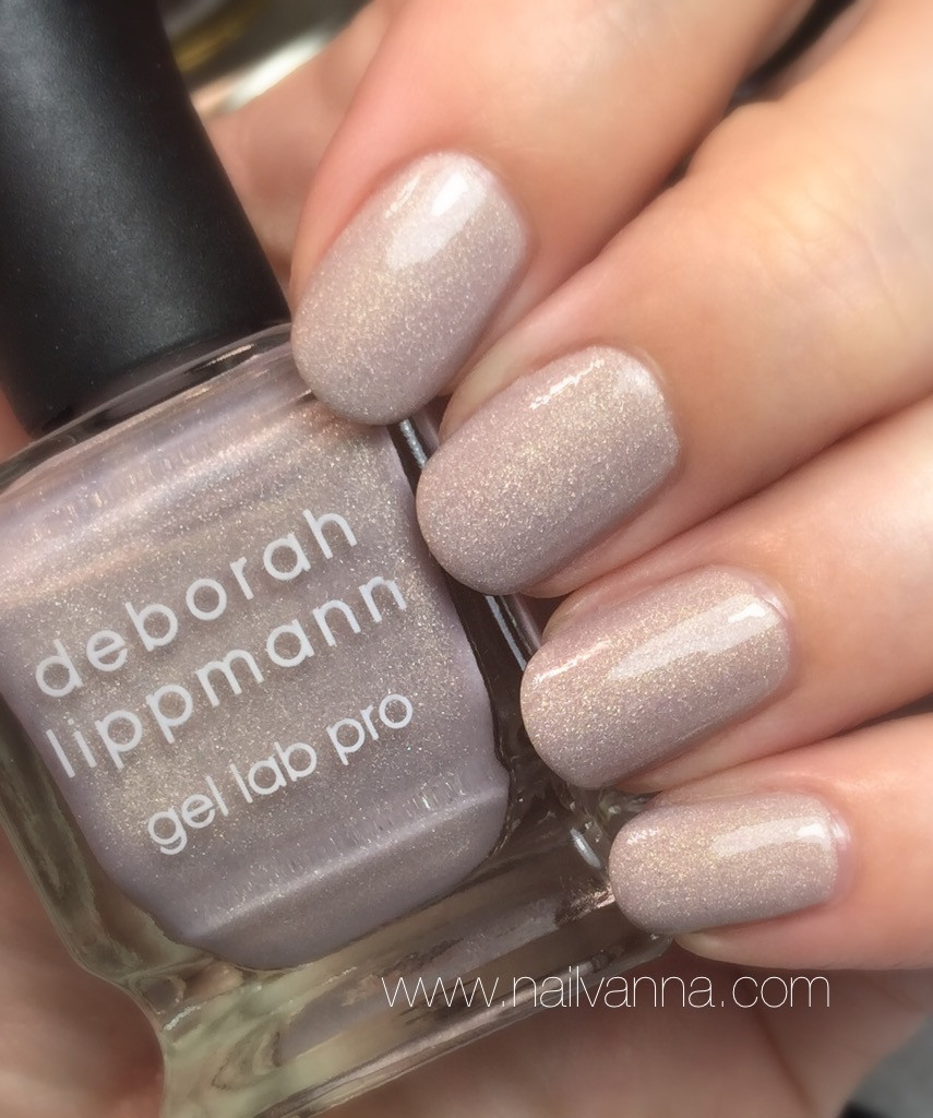 Nailvanna,nail polish reviews,lacquer,deborah lippmann,dirty little secret, gel lab pro,neutral