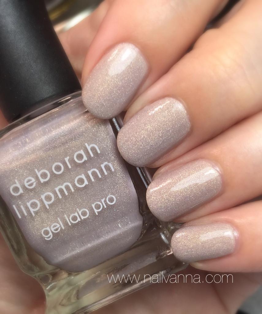 Nailvanna,nail polish reviews,lacquer,deborah lippmann,dirty little secret, gel lab pro,neutral