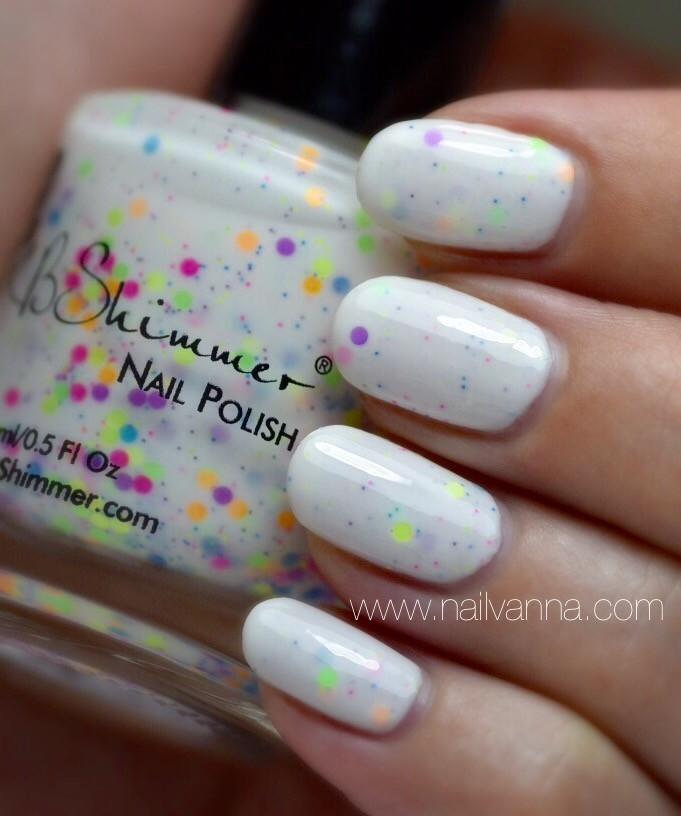 Nailvanna,nail polish review,lacquer,jb shimmer,neon me, crelly