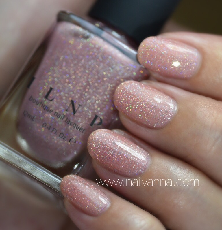 Nailvanna,nail polish reviews,lacquer,ILNP,Sweet Pea,nude
