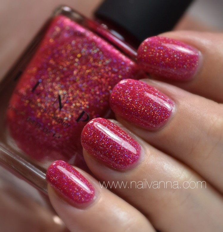 nailvanna,nail polish reviews,lacquer,ILNP,Jello Shot,Holo,Pink,