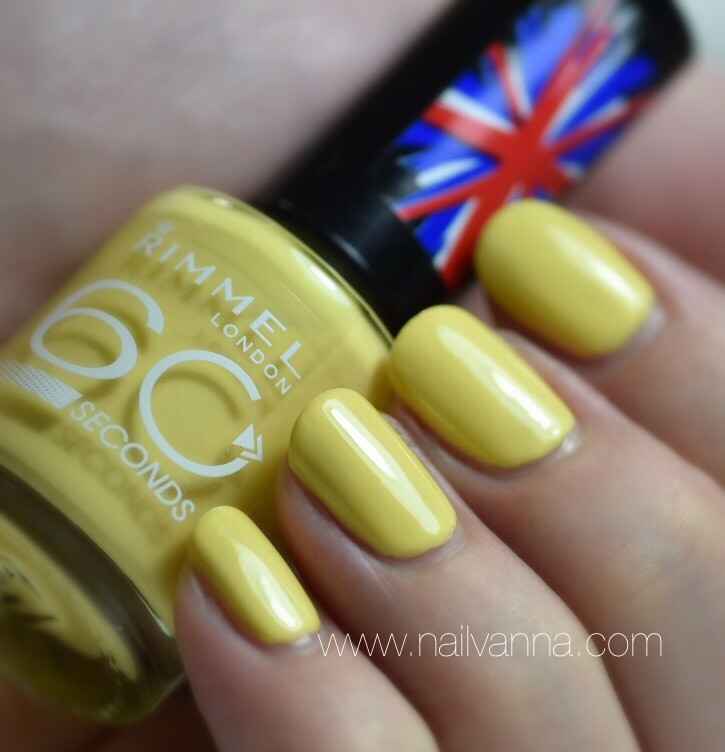 Nailvanna,nail polish review,lacquer,rimmel london,round and round in circles
