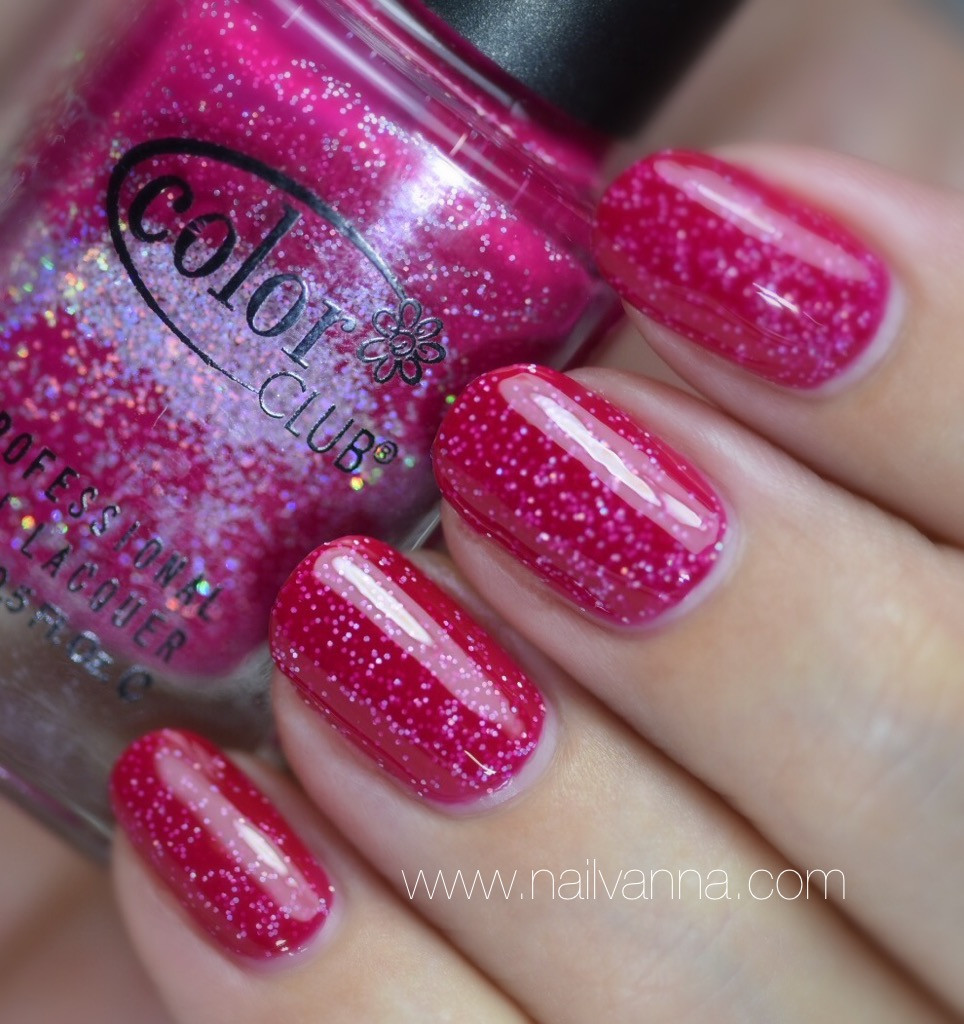 Nailvanna,nail polish reviews, lacquuer,Color Club, Wink, Wink, Twinkle