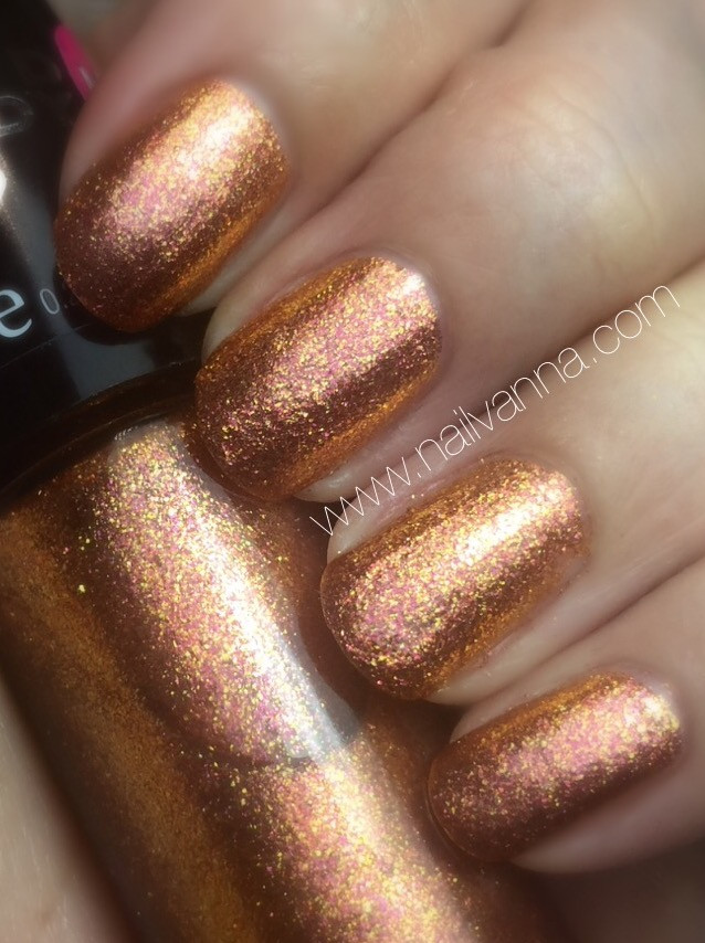 nailvanna,nail polish reviews,lacquer,Hard candy, Foil,Bronze champion