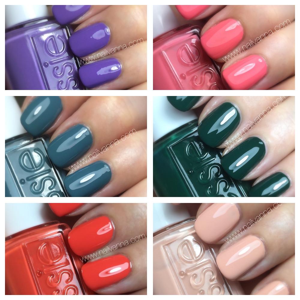 nailvanna,nail polish reviews,lacquer, essie, spring 2016