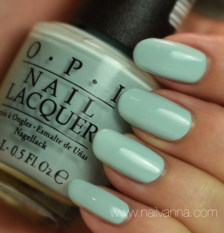 Nailvanna,nail polish reviews,lacquer,OPI,Gelato On My Mind