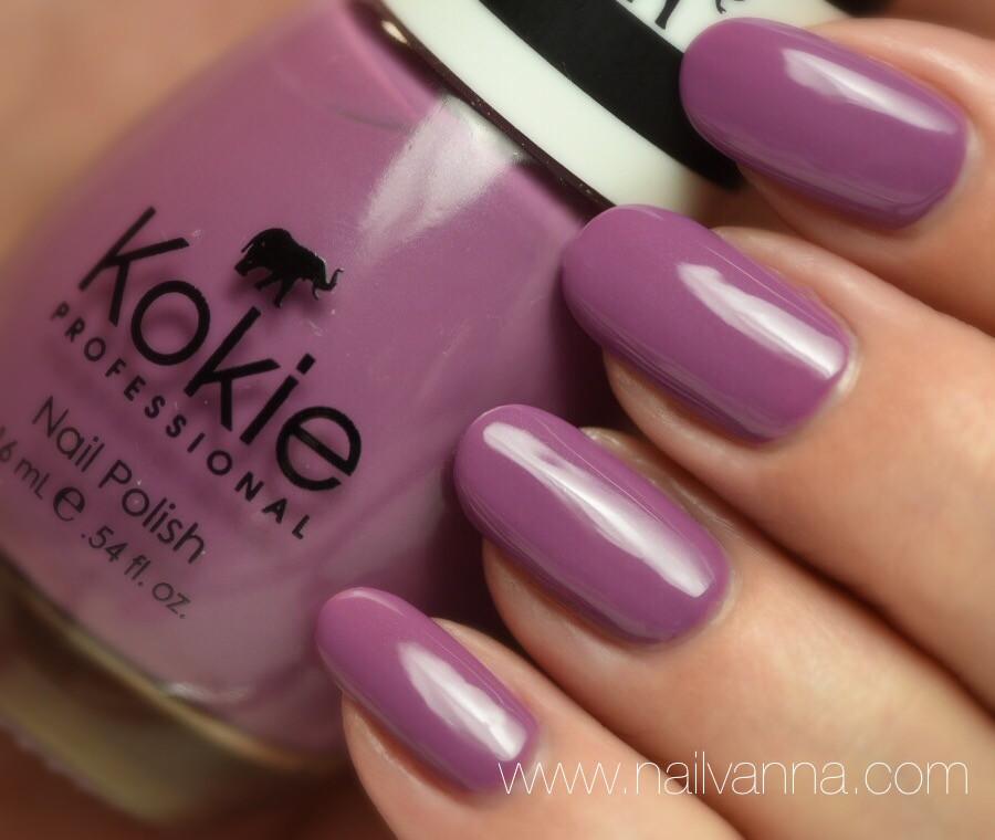 Nailvanna,nail ppolish reviews,lacquer,Kokie,Mystic Mauve