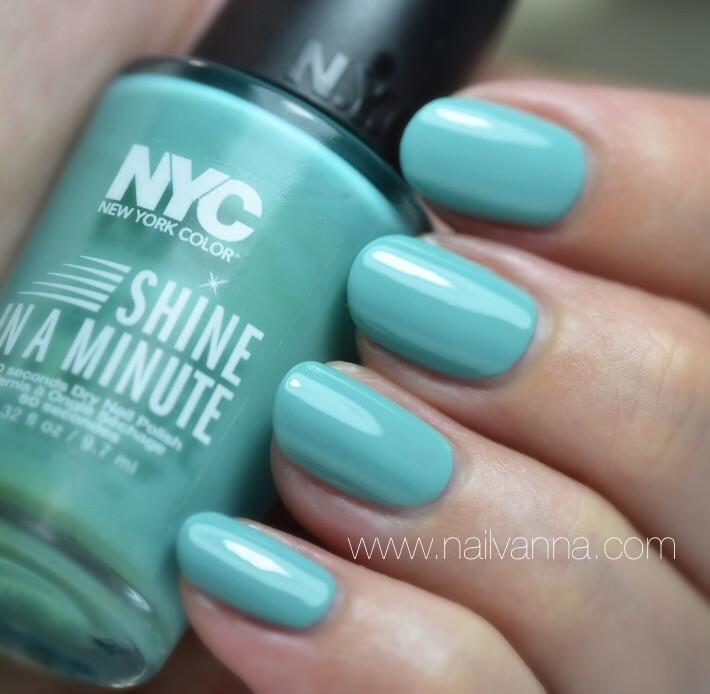 Nailvanna,nail polish reviews,lacquer,NYC,Mint'ed On Broadway,green