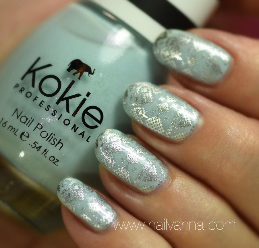 Kokie Something Blue Stamped