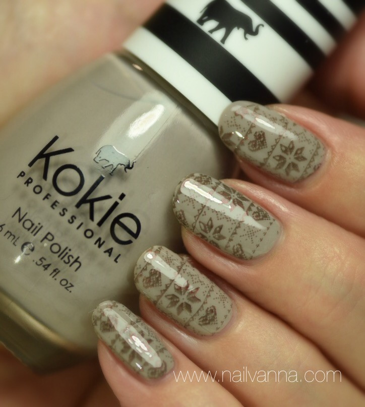 Nailvanna,nail polish reviews,lacquer,Kokie,Grey Area