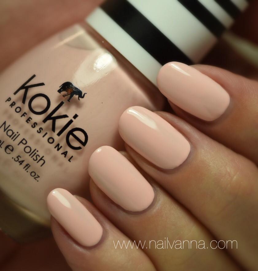 Nailvanna,nail polish reviews,lacquer,Kokie,Rose,soft pink
