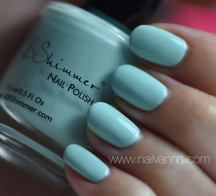 Nailvanna,nail polish revies,lacquer,kb shimmer, playing with the buoys,