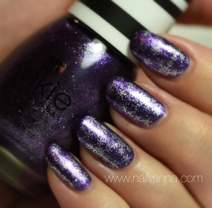 Nailvanna,nail polish reviews,lacquer,Kokie,Sugar Plum,Purple Foil,