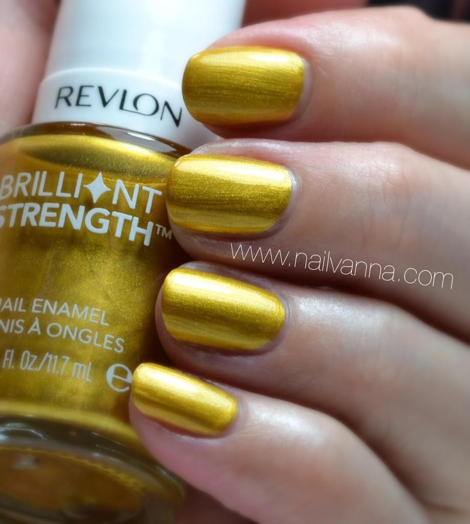 Nailvanna,nail polish reviews,lacquer,revlon,hypnotize,yellow,gold