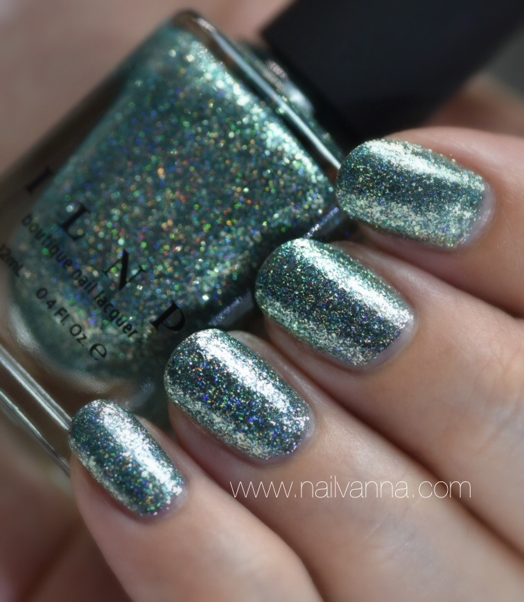 nailvanna,nail polish reviews,lacquer,ILNP,rolling hills,ultra metallic,blue-green