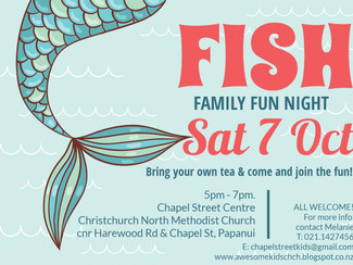 Chapel St Centre, FISH Family Fun Night :)